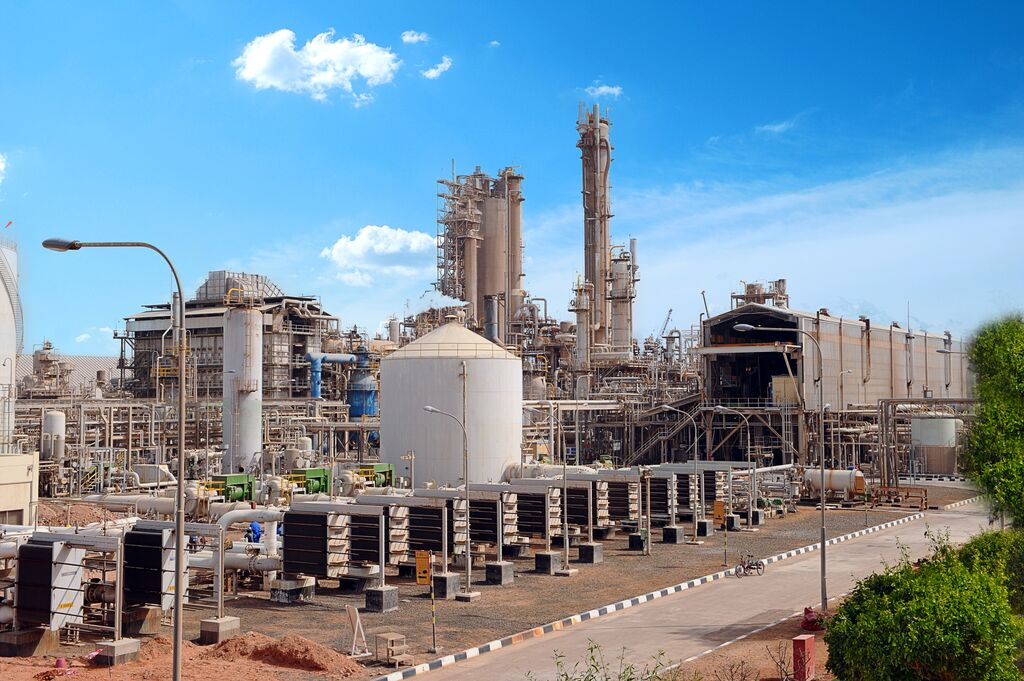 The Fertil ammonia plant in Al Ruwais, Abu Dhabi.
